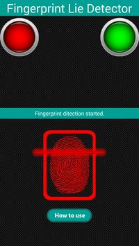 Fingerprint Lie Detector Prank apk screenshot