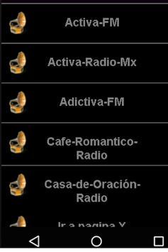 Emisoras mexico gratis En Linea 2018 apk screenshot
