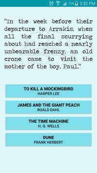 First Sentences screenshot 1