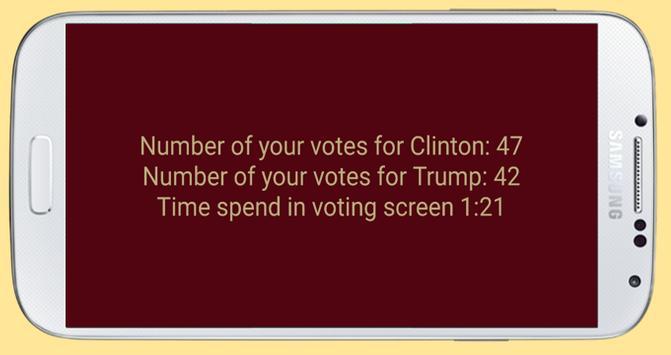 Trump vs Clinton apk screenshot