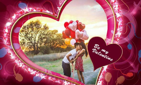 Valentine Frames Romantic New screenshot 5