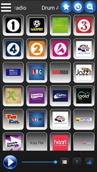 Radio 2 UK - absolute radio x BBC radio talk heart poster