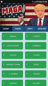 Donald Trump SoundBoard poster