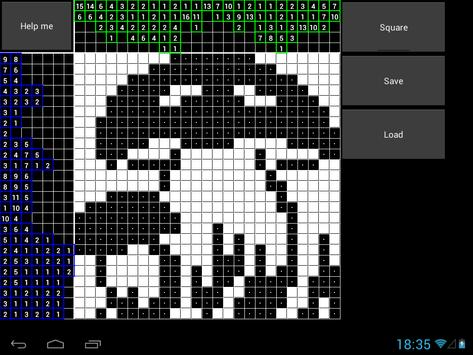 Help with Griddlers apk screenshot