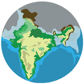India Geography in Hindi icon