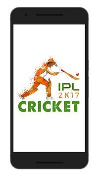 IPL T20 Cricket Schedule 2017 poster
