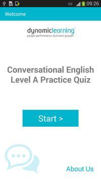 Conversation English A poster