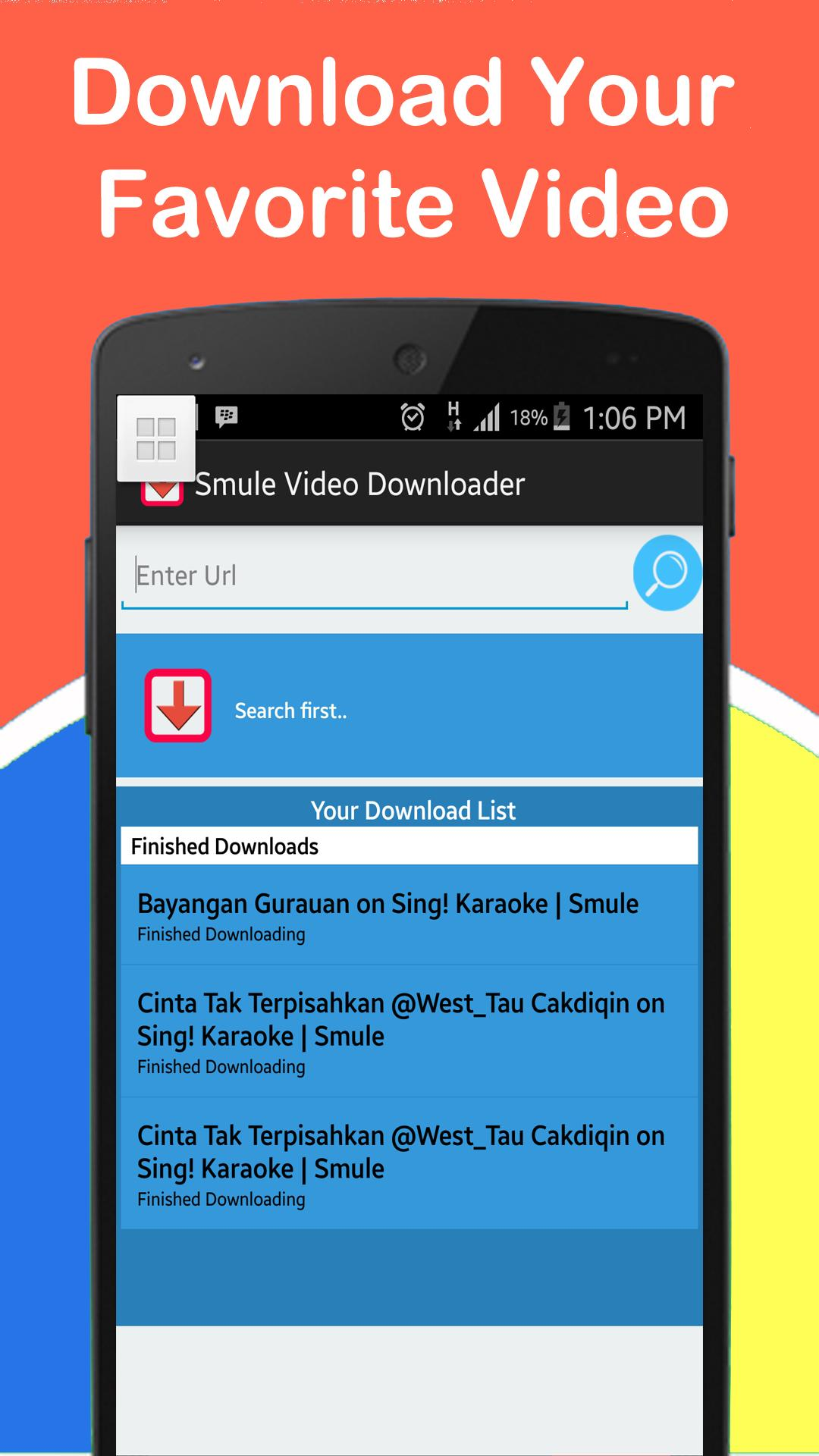 Video downloader for Smule for Android - APK Download