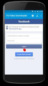 Video Downloader for FBK poster