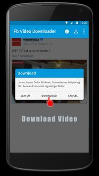 Video Downloader for FBK apk screenshot