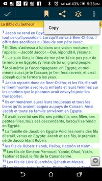 La Bible de Genève (French) apk screenshot