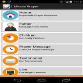 1 Minute Prayer icon