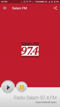 Salam 97.4 FM poster