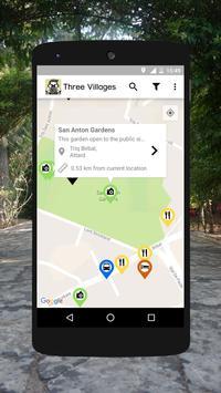 Three Villages Malta Map apk screenshot