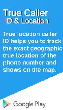 TrueCaller ID Location poster