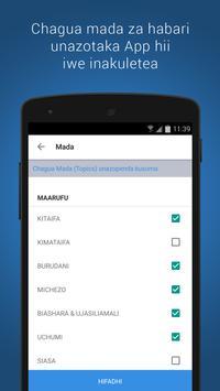 Zinazosomwa: Habari Zinazovuma Tanzania apk screenshot