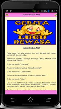 Cerita Humor Lucu Dewasa apk screenshot