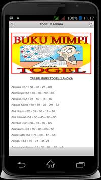 Buku Mimpi Togel apk screenshot