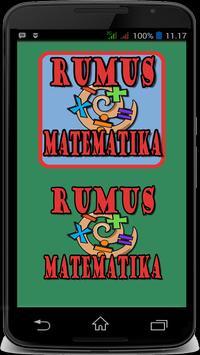 Rumus Matematika Free poster