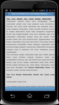 Rumus Matematika Free screenshot 4