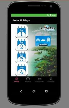 Lotus Holidays apk screenshot