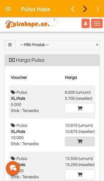 Pulsa Hape apk screenshot