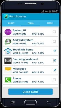 Ram Booster apk screenshot