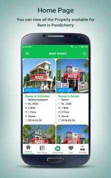 Rent Pondy apk screenshot