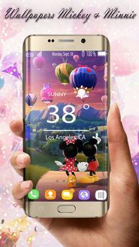 Mickey & Minnie  HD Wallpaper screenshot 4