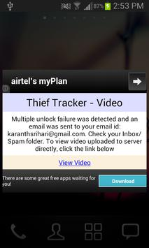 Thief Tracker - Video apk screenshot