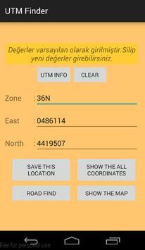 UTM MGRS Finder apk screenshot