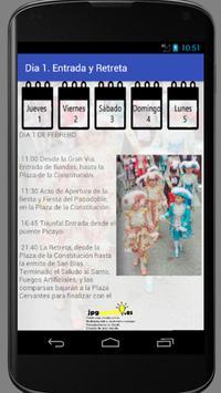 Fiestas en honor a San Blas 2018 Sax (Alicante) apk screenshot