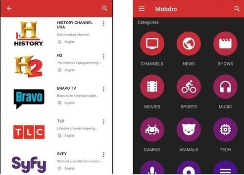 |Mobdro| screenshot 1
