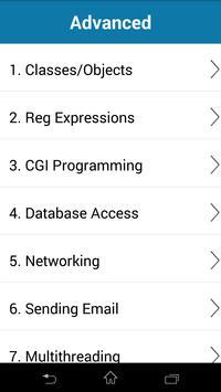 Python Programming Tutorial apk screenshot