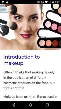 Makeup Course screenshot 1