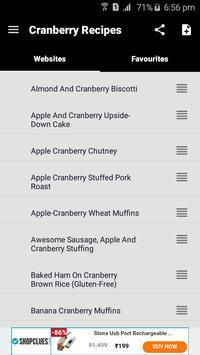 100+ Cranberry Recipes screenshot 1