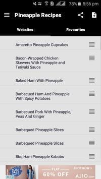 100+ Pineapple Recipes screenshot 1