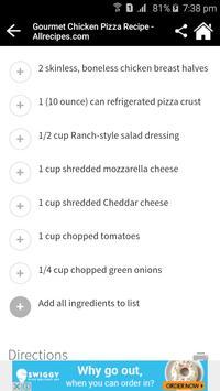 200+ Pizza Recipes screenshot 2