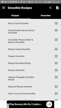 320+ Smoothie Recipes apk screenshot