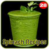 100+ Spinach Recipes icon