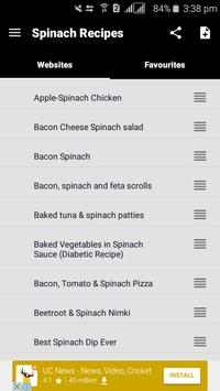 100+ Spinach Recipes screenshot 1