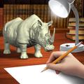 Rhinoceros Mannequin