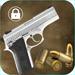 Pistol screen lock simulator