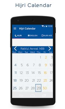 Hijri Calendar With Widget poster
