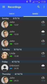 Call Recorder captura de pantalla 5