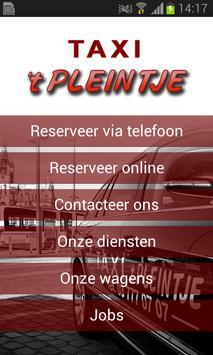 Taxi 't Pleintje poster