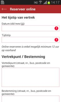 Taxi 't Pleintje apk screenshot