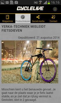 Cyclelive apk screenshot