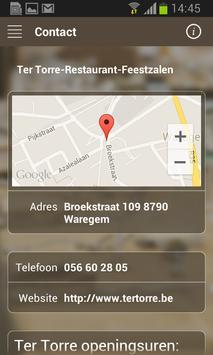 Restaurant Ter Torre apk screenshot