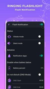 Color Flash Light Alert - Call & SMS screenshot 1